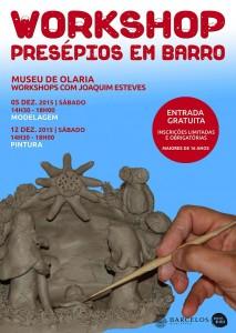 Workshop Presépios em Barro @ Barcelos | Braga | Portugal