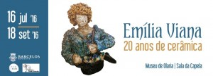 Emília Viana 20 anos de cerâmica