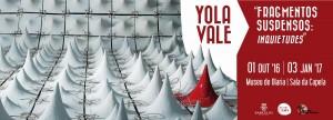 EXPOSIÇÃO FRAGMENTOS SUSPENSOS: INQUIETUDES | YOLA VALE @ Museu de Olaria | Barcelos | Braga | Portugal