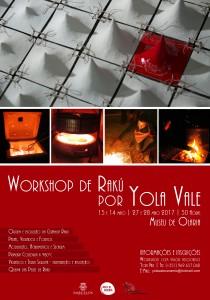 <!--:pt-->Workshop de Rakú por Yola Vale<!--:--><!--:en-->Workshop de Rakú por Yola Vale<!--:--> @ Museu de Olaria | Barcelos | Braga | Portugal
