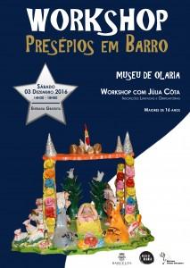 Workshop Presépios em Barro com Júlia Côta @ Museu de Olaria | Barcelos | Braga | Portugal
