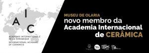 Museu de Olaria novo membro da Academia Internacional de Cerâmica