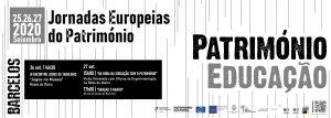 [:pt]Jornadas Europeias do Património 2020[:]